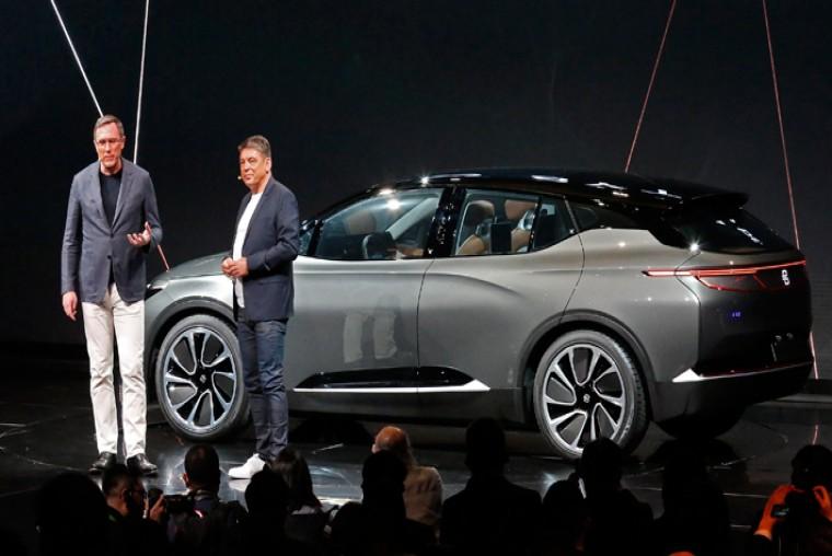 """Conoce el """"auto del futuro"""" presentado por la startup china Byton en salón tecnológico de Las Vegas - WDesign - Diseño Web Profesional"""