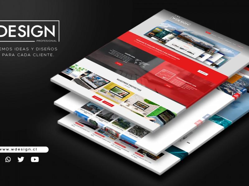 Diseño páginas web temuco - WDesign - Diseño Web Profesional