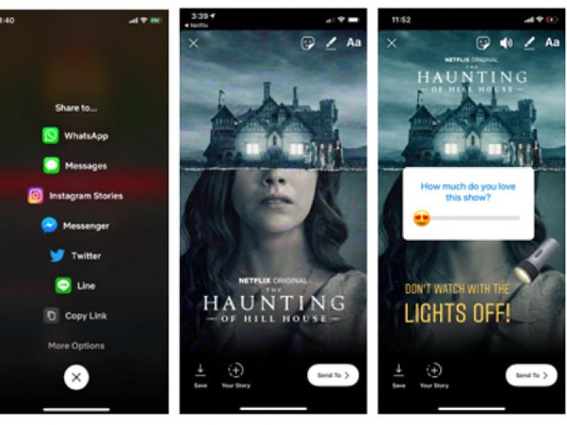 Usuarios de iOS podrán compartir qué están viendo en Netflix en sus historias de Instagram - WDesign - Diseño Web Profesional