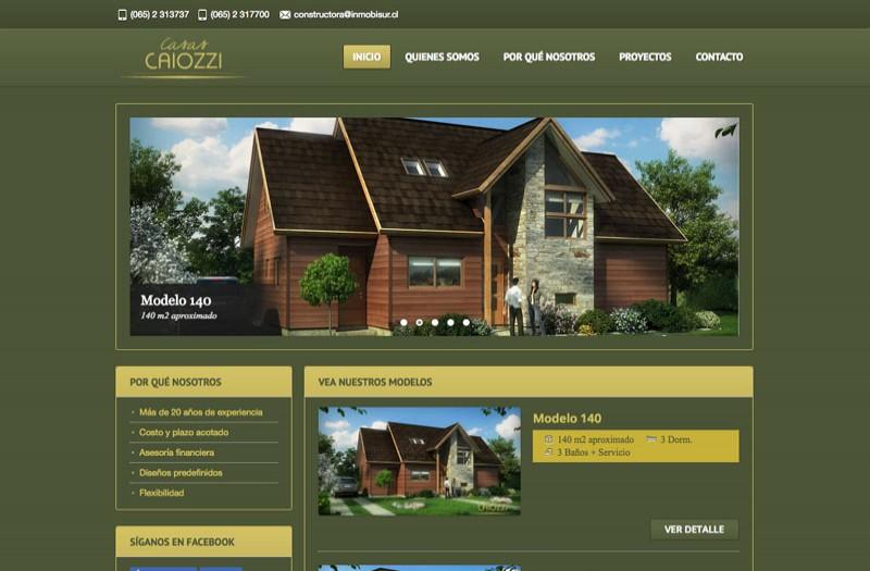 Casas Caiozzi - WDesign - Diseño Web Profesional