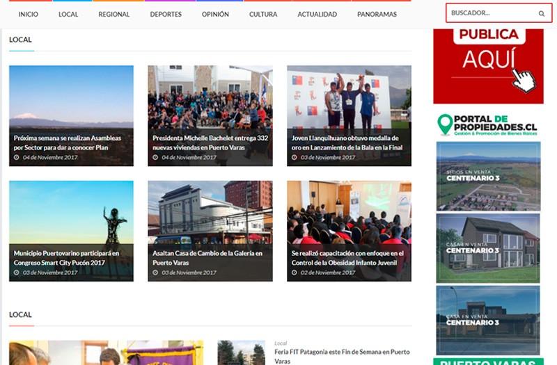 El Heraldo Austral - WDesign - Diseño Web Profesional