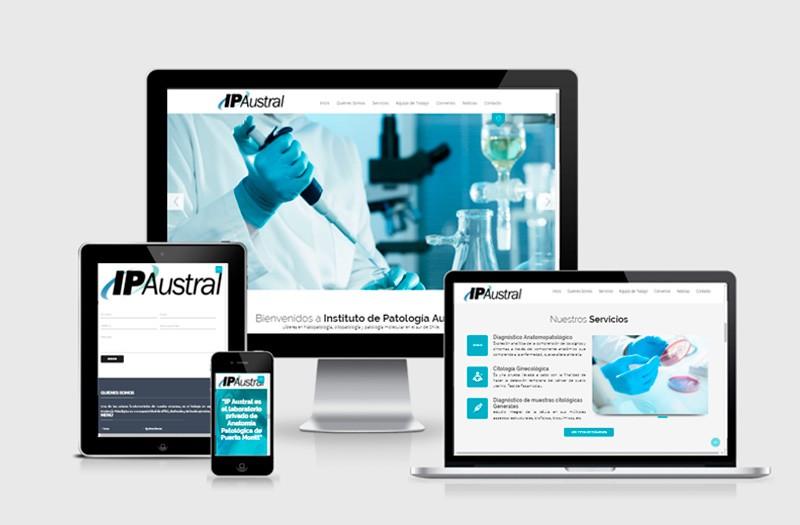 IP Austral - WDesign - Diseño Web Profesional