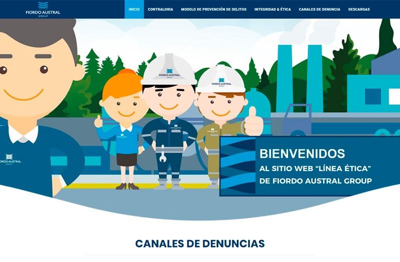 LÍNEA ÉTICA FIORDO AUSTRAL - WDesign - Diseño Web Profesional