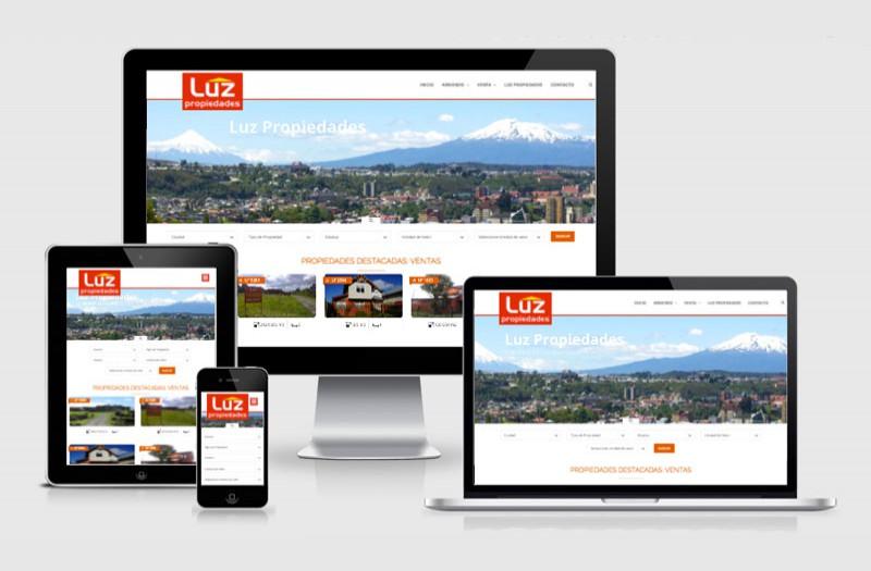 Luz Propiedades - WDesign - Diseño Web Profesional