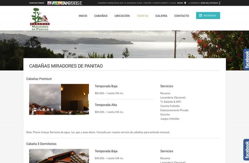 Miradores de Panitao - WDesign - Diseño Web Profesional