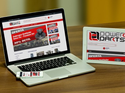 Power Parts - WDesign - Diseño Web Profesional