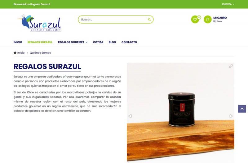 Regalos Sur Azul - WDesign - Diseño Web Profesional