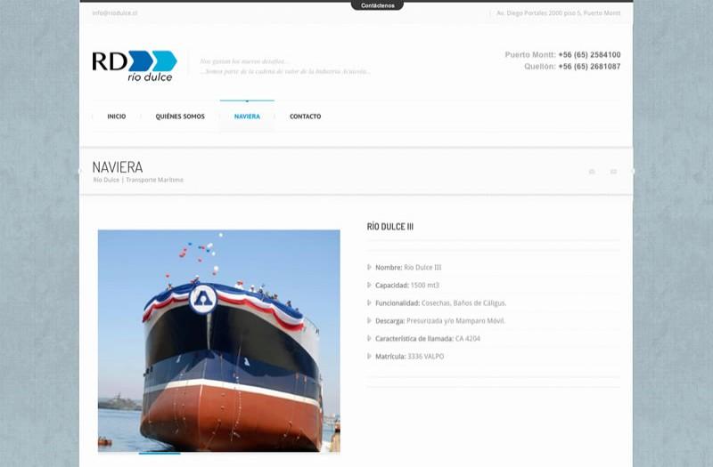 Rio Dulce - WDesign - Diseño Web Profesional
